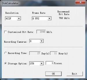 Disk Space Calculator De Hikvision Securamente El Blog