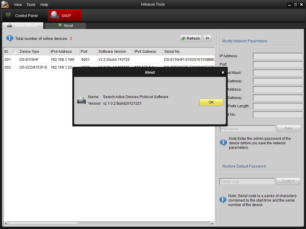 Sadp Sadp Tool Hikvision Download