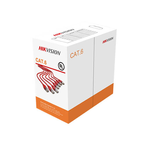 Cable de red UTP Cat6  8xCu 23AWG Hikvision DS-1LN6-UU (300m)