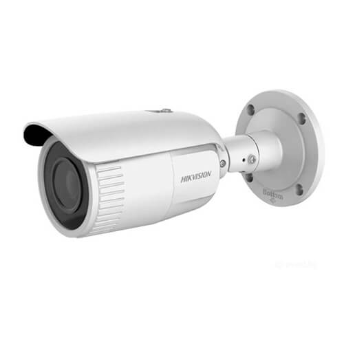 Cámara IP Hikvision DS-2CD1643G0-IZ 4MP ECO IR30m 2.8-12mm motorizada H265+ POE SD IK10