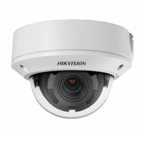 Domo IP Hikvision DS-2CD1743G0-IZ 4MP ECO IR30m 2.8-12mm motorizada H265+ POE SD