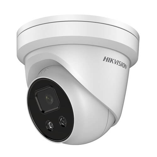 Domo IP Hikvision DS-2CD2346G1-I 4MP PRO IR30m 2.8mm H265+ POE SD WDR Acusense