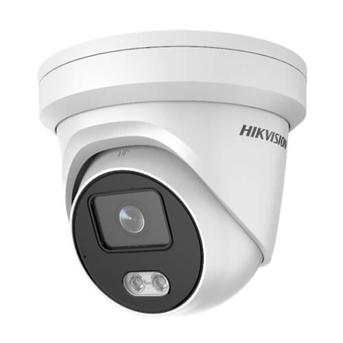 Domo IP Hikvision  DS-2CD2347G1-L 4MP PRO 0.0014Lux Luz30m 2.8mm H265+ POE SD WDR Colorvu