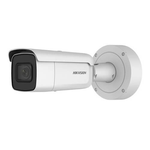 Cámara IP Hikvision DS-2CD2643G0-IZS 4MP PRO IR50m 2.8-12mm motorizada H265+ POE SD WDR Audio Alarmas
