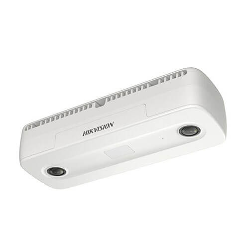 Cámara conteo de personas IP Hikvision DS-2CD6825G0/C-IS 2MP 2mm (doble sensor) IR6m H265+ POE SD Alarmas