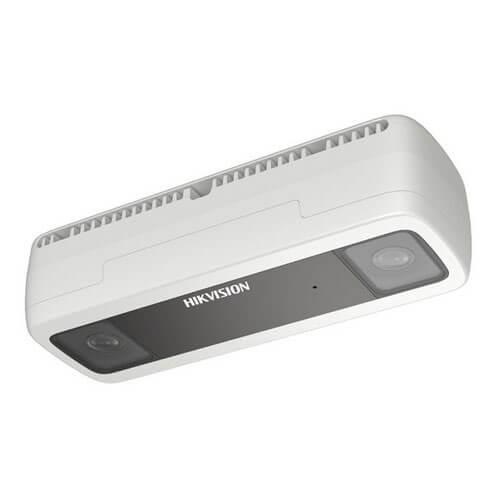 Cámara conteo de personas IP Hikvision DS-2CD6825G0/C-IVS 2MP 2mm (doble sensor) IR6m H265+ IP67 POE SD Alarmas