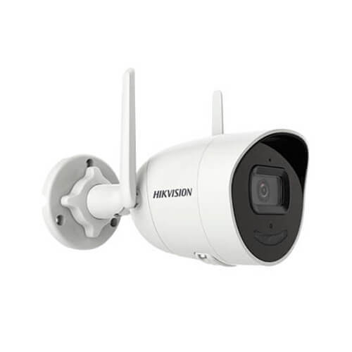 Cámara IP Hikvision  DS-2CV2046G0-IDW/FUS 4MP PRO IR30m 2.8mm H265 POE SD WDR Wifi Audio Acusense