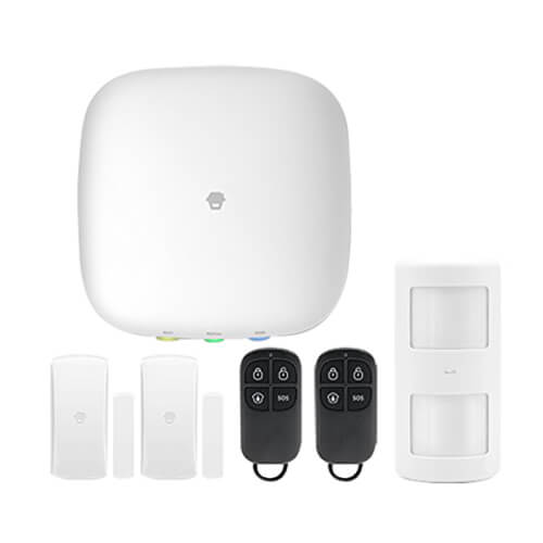 Alarma y Smart Home GSM+Wifi inalámbrica Chuango H4 Plus