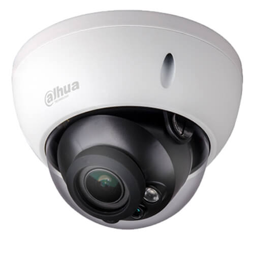 Domo IP Dahua HDBW5831R-ZE 8MP IR50m 2.7-12mm motorizada H265+ POE SD WDR Audio Alarmas