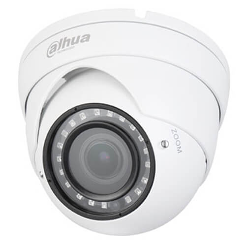 Domo 4en1 Dahua HDW1100R-VF 1MP ECO IR30m 2.8-12mm