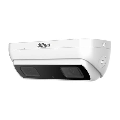 Cámara conteo de personas IP Dahua HDW8341X-3D 3MP 2.8mm (doble sensor) IR10m H265+ IP67 POE SD Alarmas Audio