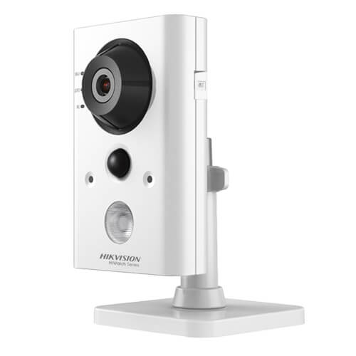 Cámara IP Hikvision HiWatch HWC-C220-D/W 2MP IR10m 2.8mm H264 Wifi SD PIR Audio Alarmas