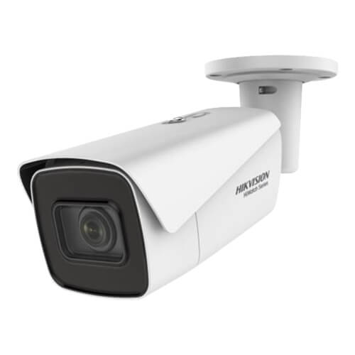 Cámara IP Hikvision HiWatch HWI-B780H-Z 8MP IR30m 2.8-12mm motorizada H265+ POE SD WDR