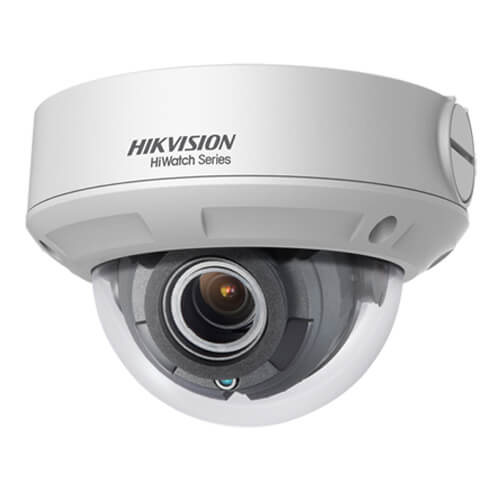 Domo IP Hikvision HiWatch HWI-D640H-Z 4MP IR30m 2.8-12mm motorizada H265+ POE SD WDR