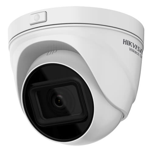 Domo IP Hikvision HiWatch HWI-T641H-Z 4MP IR30m 2.8-12mm motorizada H265+ POE WDR