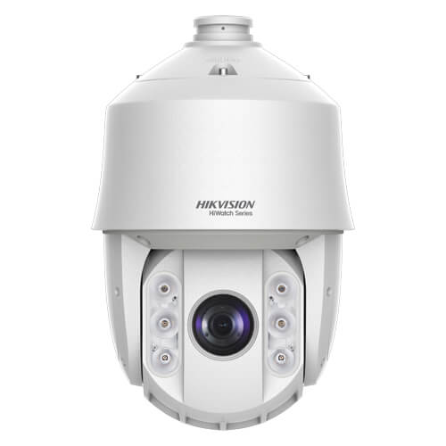 Domo PTZ HDTVI Hikvision HiWatch HWP-T5225I-A 2MP IR150m 4.8-120mm motorizada Zoom25x WDR