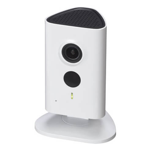 "Cámara IP Cube Dahua  IPC-C15 CMOS 1/3"" 1.3MP (1280x960) 2.3mm IR 10m H264 Wifi Audio SD"