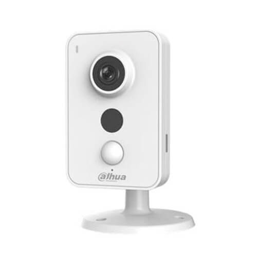 "Cámara IP Cube Dahua  IPC-K35 CMOS 1/3"" 3MP (2304x1296) 2.8mm IR 10m H264 Wifi Audio Alarmas SD PIR"