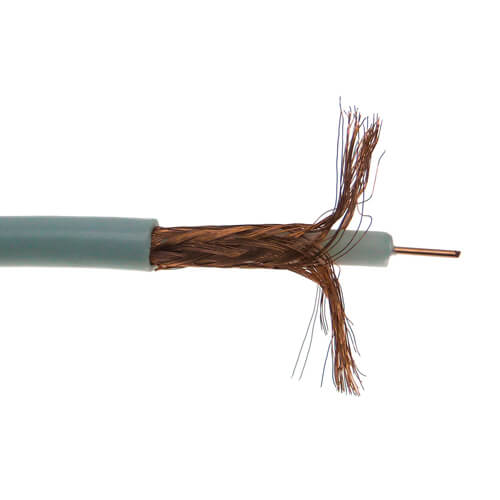 Cable coaxial RG59 Blanco (100m)