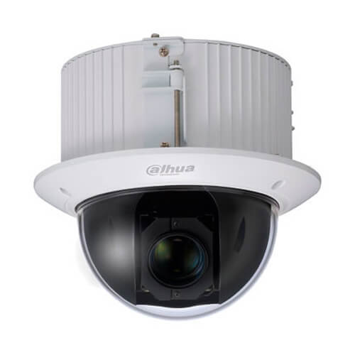 Domo PTZ IP Dahua SD52C225U-HNI 2MP 0.0005Lux 4.8-120mm Zoom25x H264 POE+ SD WDR Audio Alarmas IK10
