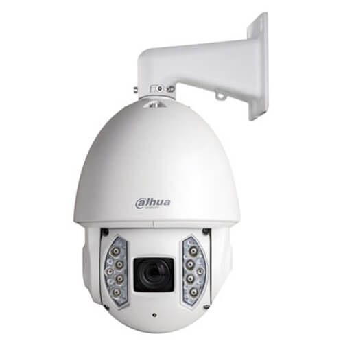 Domo PTZ IP Dahua SD6AE230F-HNI 2MP IR200m 5-150mm Zoom30x H264 Hi-POE SD WDR Audio Alarmas