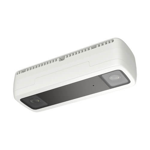Cámara conteo de personas IP Safire SF-IPCOUNT-EXT-Y0200 2MP 2mm (doble sensor) H265+ IP67 POE SD Alarmas