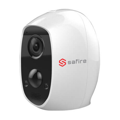 Cámara IP Safire SF-IPCU003-BAT-2W 2MP IR10m 2.2mm H264+ Wifi SD Audio Bateria