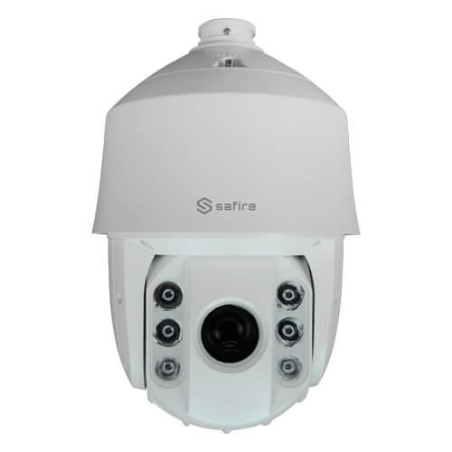 Domo PTZ IP  Safire  SF-IPSD8745ITA-2U 2MP IR200m 4-180mm motorizada Zoom45x H265+ POE SD WDR Audio Alarmas