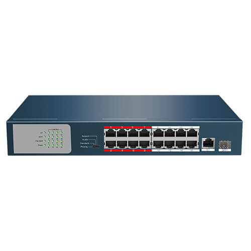 Switch Safire SF-SW1816POE-135 18-port 10/100M POEx16 SFPx2 135W
