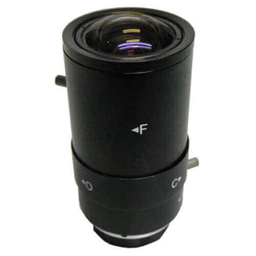 Óptica varifocal manual iris para cámara 2.8 - 12mm SSV2812