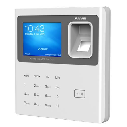 Teclado Sistema de Control de Presencia con Lector Tarjetas RFID Anviz W1CPRO