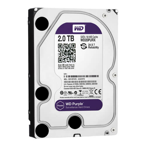 Disco Duro Western Digital Purple 2Tb (2000Gb) SATA