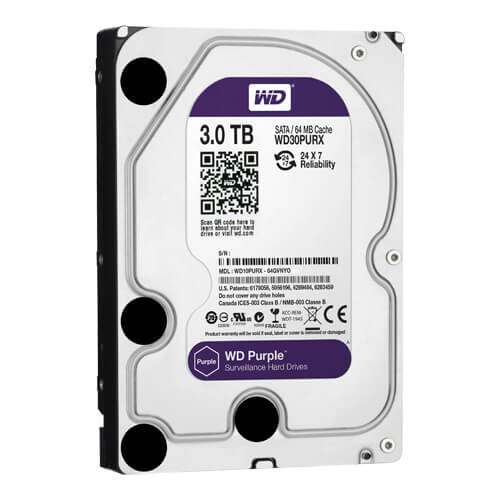 Disco Duro Western Digital Purple 3Tb (3000Gb) SATA