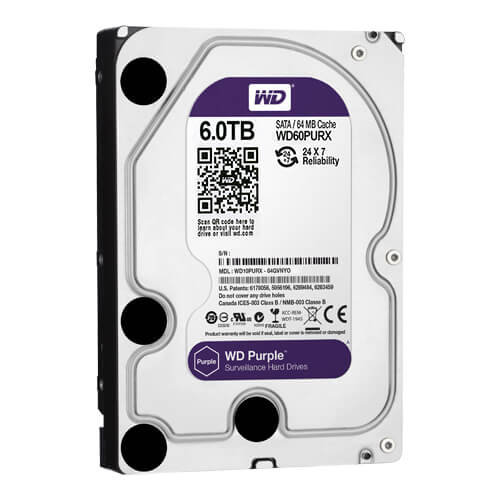 Disco Duro Western Digital Purple 6Tb (6000Gb) SATA