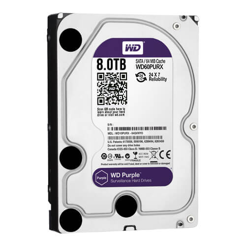 Disco Duro Western Digital Purple 8Tb (8000Gb) SATA