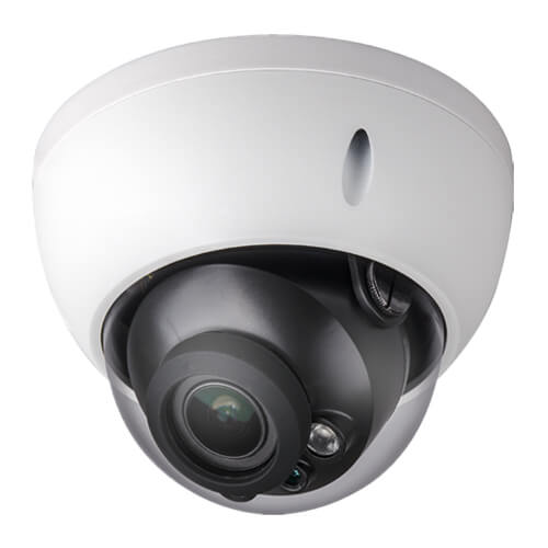 Domo IP X-Security XS-IPD844ZSWHA-4U 4MP IR40m 2.7-13mm motorizada H265+ POE WDR Audio Alarmas