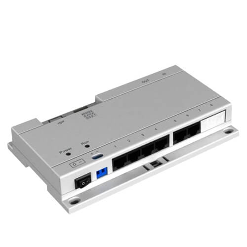 Switch POE X-Security XS-V1060SW-IP 6 puertos para videoporteros IP