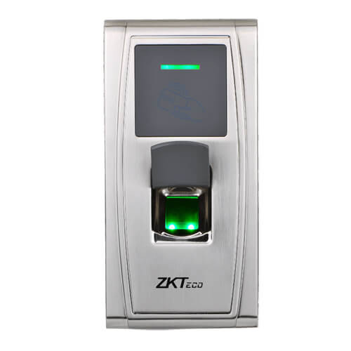 Control de accesos ZKTeco ZK-MA300-BT Huellas RFID Bluetooth TCP/IP USB RS485 Wiegand26 Relé IP65